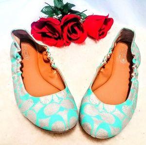 Coach Ballet Style Flats Slip On Shoes Still New!